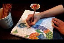 Tropical World Colouring Book