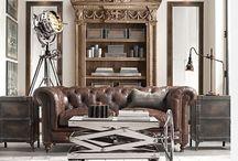 Industriell stil / Kule hjem med industriell stil