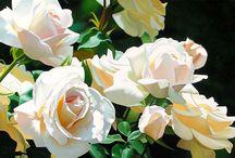 Art loves flowers
