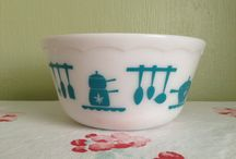 Milk Glass and Pyrex Love