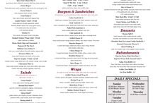 Menus / Hopvine Brewing Company menus