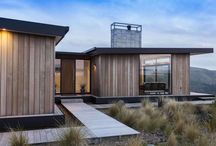 Timber clad homes