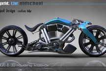 Long & low Motorcycle