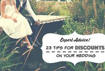 Save On Your Wedding! / Great tips and advice on how to save BIG on your wedding day!