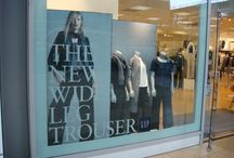 Ultra Board - Window Displays / Ultra Board is sustainable display board ideal for producing creatively designed Retail Displays, Signage, POS and much more