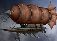 Inspiration sheet: Airship