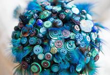 Stunning Button Bouquets / Bouquets aren't just for flowers