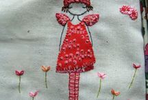 Embroidery freeform / by Reina