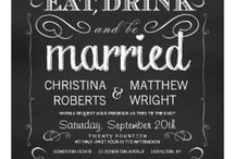 invitations / #weddinginvitations should show your personality and style