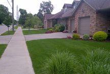 Maintenance Properties / Landscape maintenance properties; grass cutting, bed edging, weeding, pruning, etc;