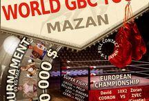 World GBC Tour K-1 SPORT / Les évènements World GBC Tour organisés par Gym Boxe Loisirs