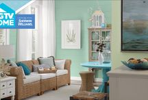 Color Collections / How do you show off your unique style with a room that really works? It starts with color. The HGTV HOME by Sherwin-Williams paint collections are designed to make color coordination simple, so your rooms always look great. Not sure if Scanda goes with Hearts of Palm? Don't worry – we've taken the guesswork out of it! Just decide which color collection suits your personal style. Pick your favorite colors and start painting, knowing you can have total confidence that the colors will work together / by HGTV HOME