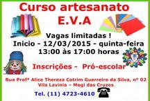 CRAFTS GRATUITO - CURSO E.V.A. / Diy  GRATUITO - CURSO E.V.A. http://www.soniaeva.com.br/