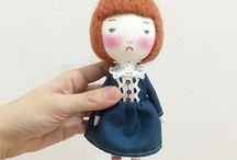 1.0 - Ooooh Fabric Dolls / Fabric Dolls by Eeching, Pocoleizi, Las Sandalias de Ana, hitsujigoto dattari