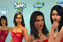 The Sims 1,2 and 3