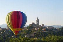 vuelos en globo / Paseos y vuelos en globo aerostático en España