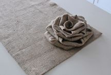 BURLAP & GRAINSACK IDEAS / by Yvonne Sanders