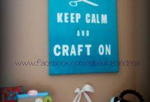 Craftroom / by El Baúl de Andrea