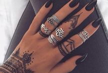 tattoos and jewellery