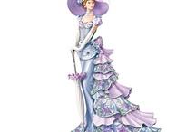 Victorian ladies gown