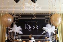 Gatsby party decorations