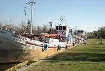 Barcos y Dragas