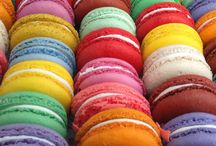 macarons de couleur
