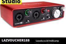 Promo Lazada Midicamp Alat Recording Daw