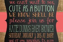 Party invites