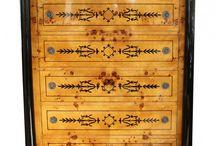 Art Deco Möbel - Schränke - Kommoden - Sitzmöbel / Hier finden Sie alle Arten von Möbeln im beliebten Art Deko Design.