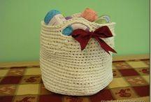 Crochet Baskets / by Chris Martin