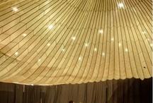 Tented ceilings