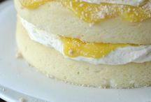 Lemon recipes / Cakes, curd etc