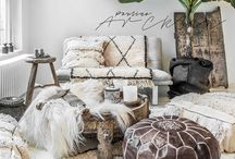 Boho Chic! / Bohemian inspired home decor and inspirations