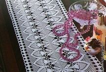 crochet doilies, rugs, endings and filet crochet