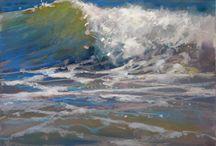 waves pastel