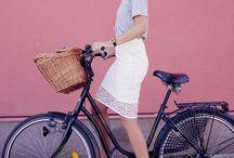 Copenhagen chic bikes / Cycle chic in Copenhagen