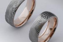 damasteel wedding rings / damasteel wedding rings Karikagyűrűk daszk acélból és egyéb nyalánkságok
