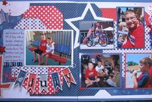 Scrapbook Pages I like / These are some pages I'll get ideas from / by Theresa Mittan