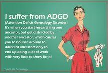 Genealogy - I am doing it!