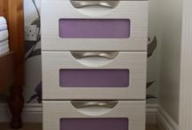 Matching bedroom furniture / Finish your room off with matching bedside tables.