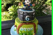 Verjaardagstaarten/ birthday cakes