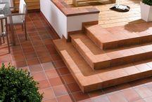 Клинкер, камень, ступени / И применении в ремонте клинкерной плитка, кирпича, искусственного камня.