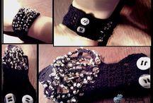 Crocet bracelets