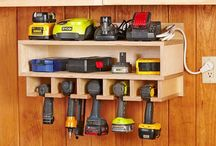 Tidy Tools / Note to self: Tidy the garage, and the workspace, and the studio... Tidy Your Tools!