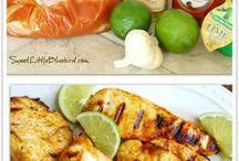 Grill recipes and Marinades