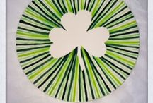 st. patty's day pottery