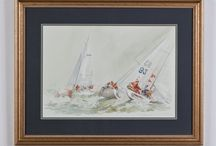 Nautical Art & Models / Maritime art from tall ships to weekends at Martha's Vineyard never fails to inspire dreams of escape and adventure.