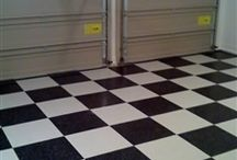 Checkerboard Flooring