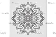 Mandalas & Zentangle